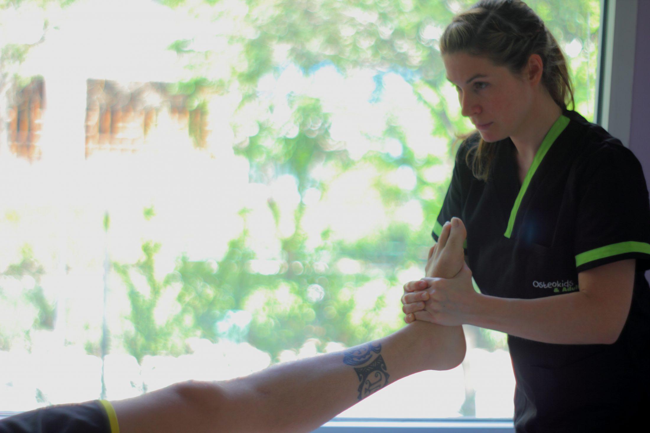 Esguince de tobillo: lesión y tratamiento