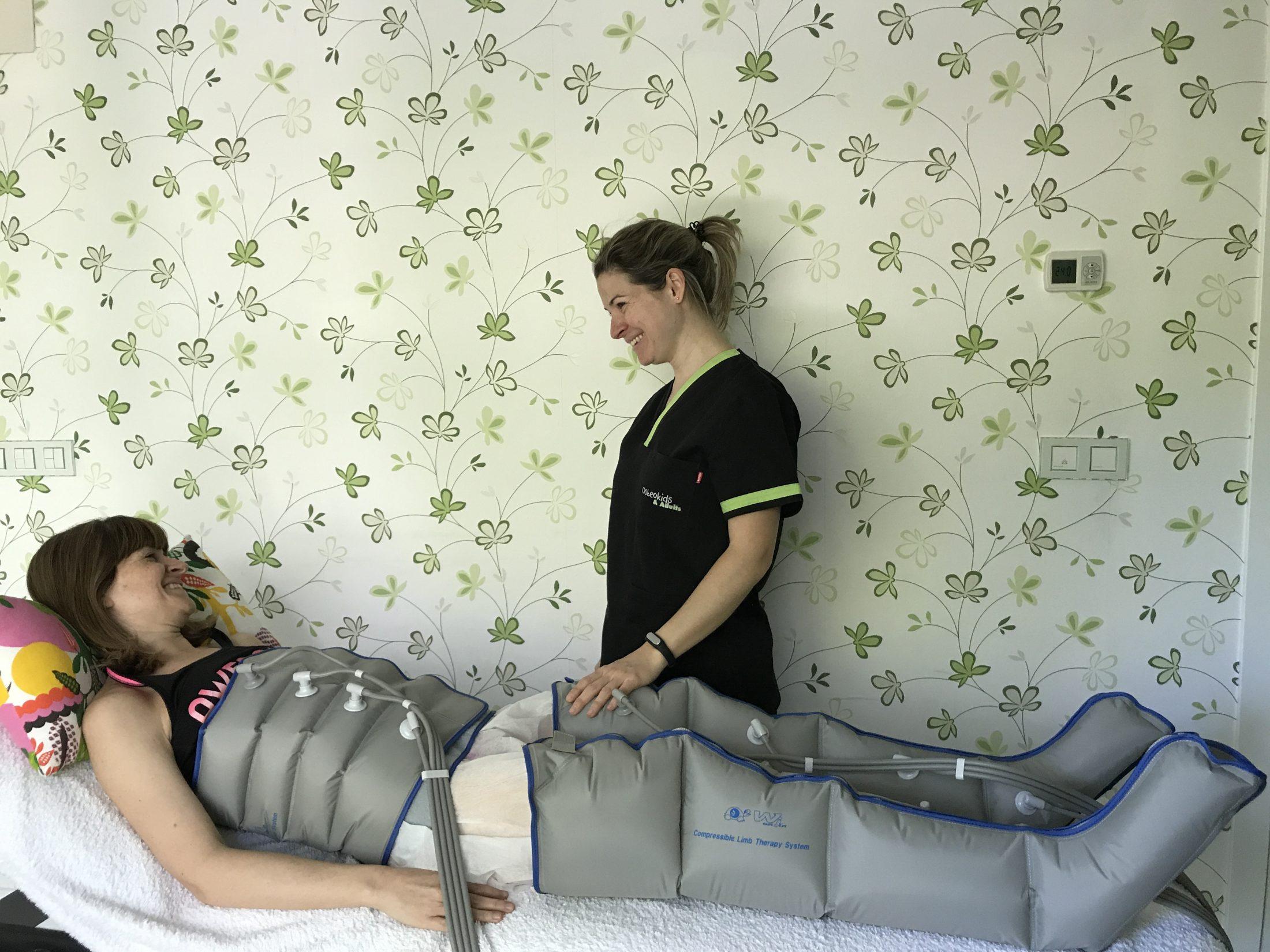 Presoterapia, drenaje linfático y sus beneficios
